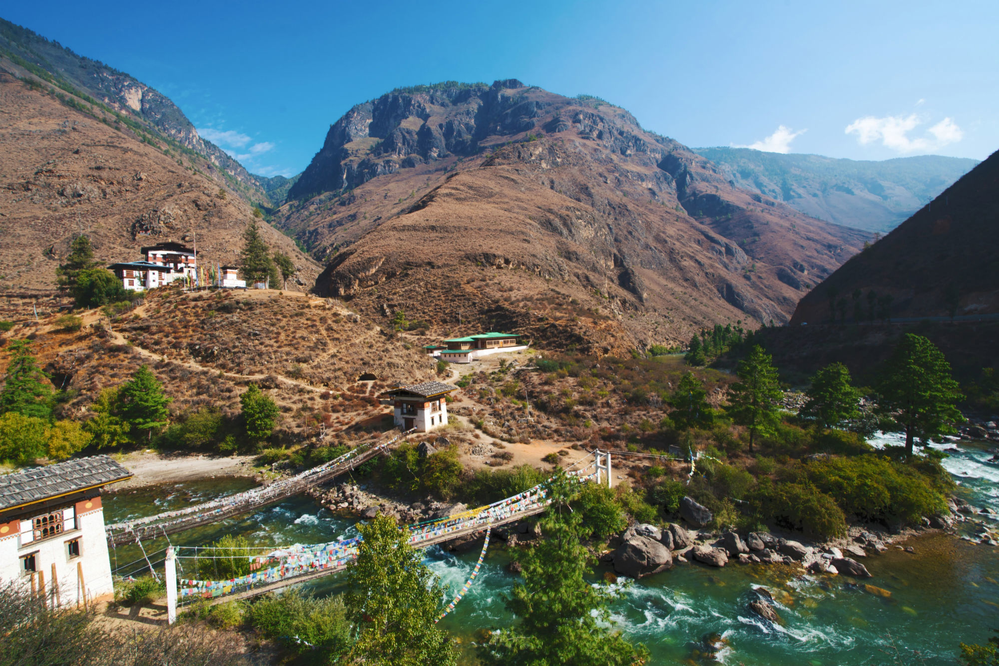 Iron Chain Bridge and Tachog Lhakhang